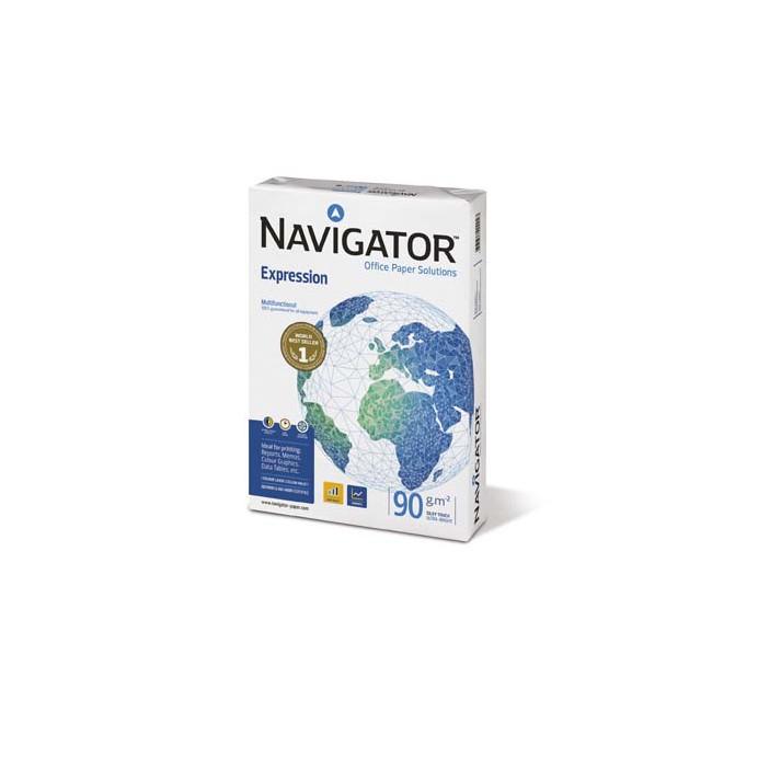 Papel A4 Navigator Expression 90 gr.