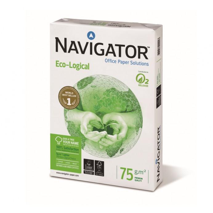 Papel a4 Navigator Eco Logical 75gr.