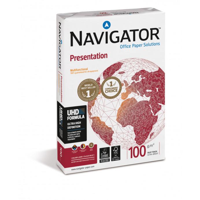 Papel A4 NAVIGATOR Presentation 100gr.