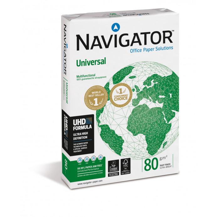 Papel A4 NAVIGATOR  Universal 80gr.